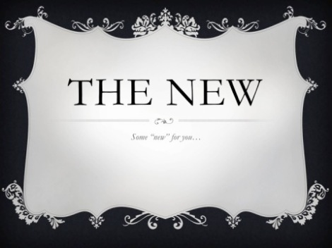 the new 2