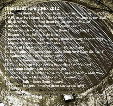Thedadada Spring Mix 2012