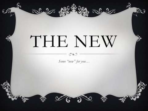 The New 08.13.12