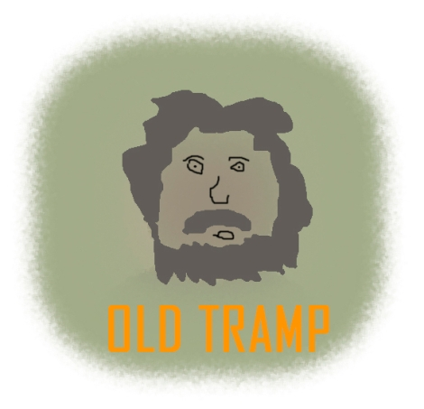 OLD TRAMP logo