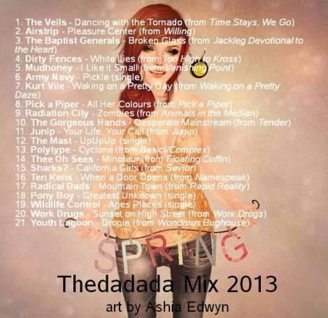 Thedadada Spring Mix 2013 MP3